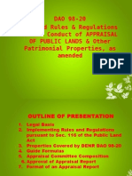 DAO 98-20 Sales & leases of Public Lands (Appraisal).ppt