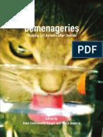 Berger - Segarra (Comp.) Demenageries. Thinking (of) Animals After Derrida