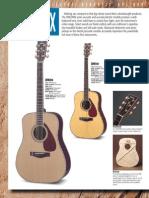 Yamaha DW guitar series