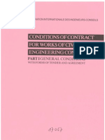 FIDIC Conditions of Contract 1987