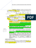 """resumen de Arellano Marín, José Pablo (2001) """"La reforma educacional chilena"""" REVISTA DE LA CEPAL 73"""