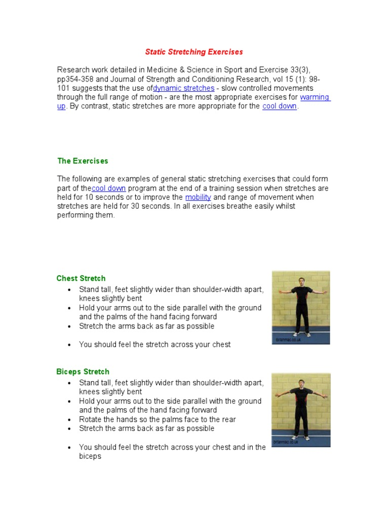 Static Stretching Exercisesc Anatomical Terms Of Motion Foot