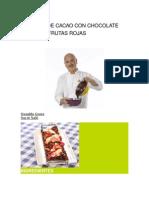 FEn Chocolate Blanco y Frutas Rojas