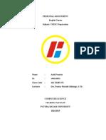 Revisi TOEIC Preparation [Ardi Pranata (140210013)]