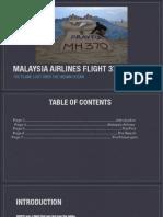 mh370 nonfiction book