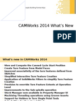 CAMWorks2014 SP0 What'SNew