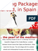 Weddings Abroad Packages | Elopement Packages