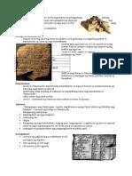 Mga Naiambag Ng Mesopotamia 2