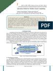 Secured Communication Model for Mobile Cloud Computing