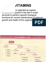 Vitamins May Be Regarded as Organic Compounds