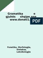 Gramatika e Gjuhës Shqipe