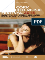 West Cork Chamber Music Festival 2015 Brochure