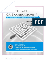 How to Face CA Exam