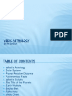 Vedic Astrology Basic on Planets