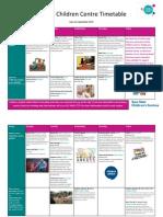 Activities June - September 2015