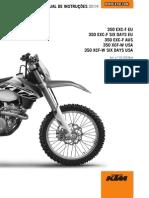 ktm 350.EXC Manual em Portugues