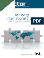 Director Business Wisdom - Achieving International Growth