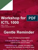 ICTL 1000 Slides