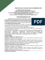 Edital Nº 01-2007 - Abertura