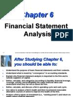 financhial Statement analysis van horne ratios