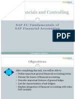 SAP FICO01 Fundamentals of SAP Financial Accounting