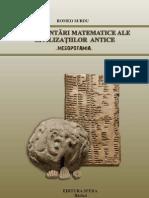 Reprezentari matematice ale civilizatiilor antice-Mesopotamia
