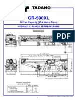 Specifikasi Tadano GR-500XL