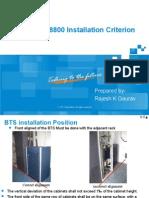 2.4-ZXSDR BS8800 Installation Criterion V1.0_Deepak