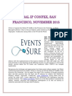 Global Ip Confex, San Francisco, November 2015