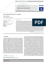 The CultuThe cultural dimension of cognitionral Dimension of Cognition