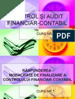 Control si Audit financiar contabil