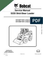 Service Manual Bobcat s220 530711001