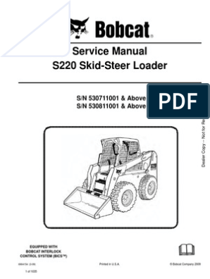 bobcat 853 wiring schematic service manual bobcat s220 530711001 elevator switch  service manual bobcat s220 530711001