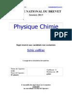 2013 Antilles brevet