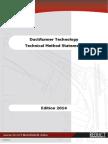 2014 Standard Technical Method Statement