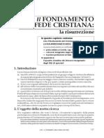 13_1 Il FONDAMENTO della FEDE CRISTIANA
