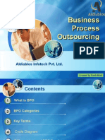 Business Process Outsourcing by Aldiablos Infotech Pvt Ltd