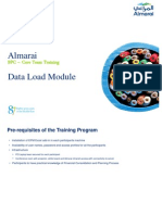 2BPC Training-Data Load Module