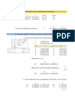 Problemas Resueltos Cartografía Matemática