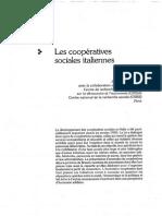 Les Coopératives Sociales Italiennes