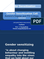 2015Jun12 - Gender Sensitization - For Aurora -