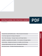 Restructuring Strategic Growth 18.03.10