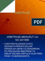 1. Arbitrase