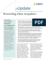 Salway Et Al - Researching Ethnic Inequalities