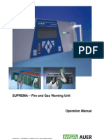 SUPREMA – Fire and Gas Warning Unit