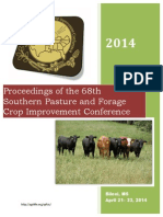 Proceedings of the 68th Southern Pasture and Forage Crop Improvement Conferenc