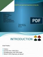 Tata Pigments PPT