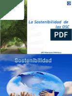 Sostenibilidad de las Organizaciones de Sociedad Civil, Elías Dinzey, gerente general Fundación Popular.