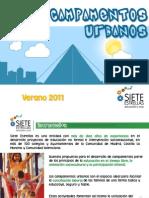 Campamentos Urbanos 2011