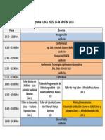 Programa Flisol 2015